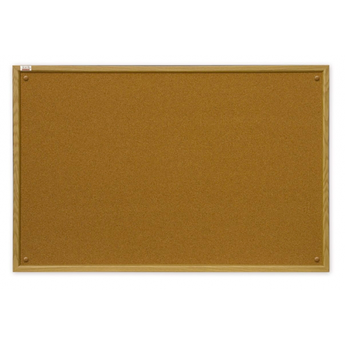 Доска пробковая в рамке MDF 60x45