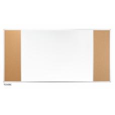 Доска комбинированная маркер (серый цвет поверхности) / пробка в UKF 170x100