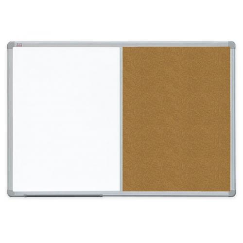 Доска комбинована маркер / пробка в ALU23 90x60