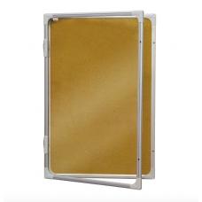 Доска-витрина сух.-магнитная модель 2 (шестигранник) 45x60