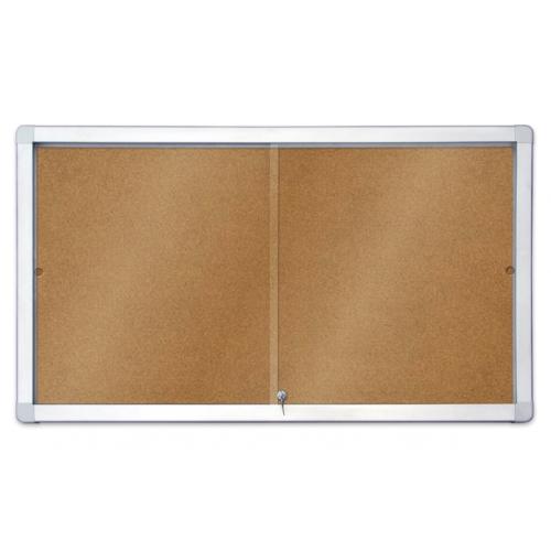 Доска-витрина сух.-магнитная модель 1 (шестигранник) 18xA4 / 141x101