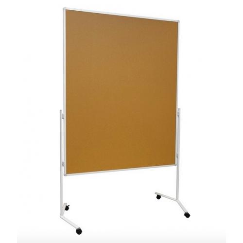 Сухостир.магнитная поверхность, цельная, на колесиках 120 × 150