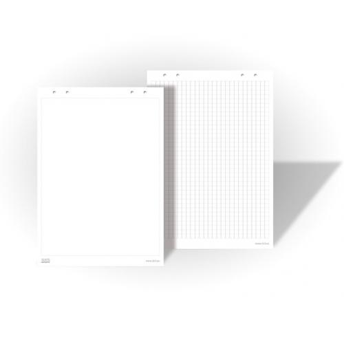 Блок для флипчартов чистый 20 листов 70 гр. / М2 EURO 66x99