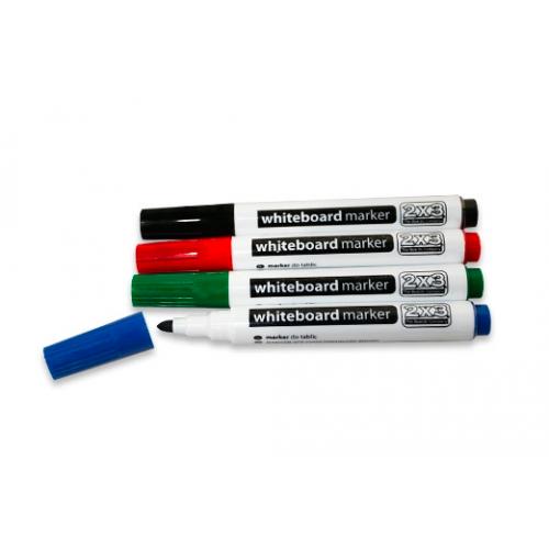Набор маркеров 4 цвета (синий, зеленый, красный, черный) для досок 4 pcs.